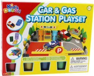 KT Πλαστοζυμαράκια Dough Car & Gas Station (11643)