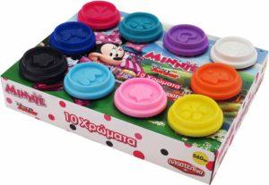 Minnie 10 Βαζάκια Πλαστελίνης (1045-03575)