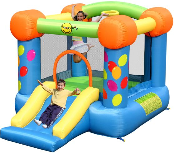 Happy Hop Φουσκωτό Τραμπολίνο Party & Hoop Bouncer (9070)