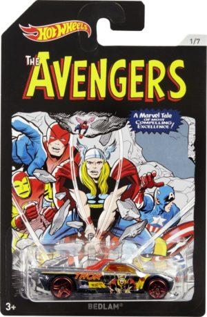 Hot Wheels Marvel Avengers Αυτοκινητάκια-8 Σχέδια (FKD48)