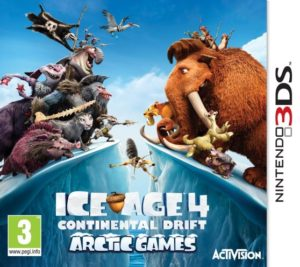 N3DS Ice Age:Continental Drift