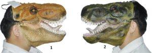WC Μάσκα Δεινόσαυρος-2 Σχέδια (6502)