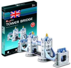 BW Παζλ 3D Tower Bridge-32Τμχ (S3010)