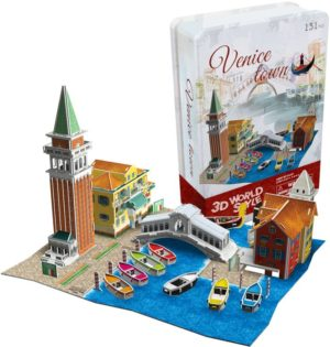 BW Παζλ 3D Venice Town (Italy) 131Τμχ (P636T)