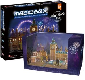 BW Παζλ 3D Magic Box London At Night 27Τμχ (OM3606H)