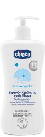 Chicco Αφρόλουτρο-Σαμπουάν Baby Moments 500ml (06211)