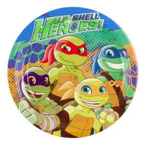 Πιάτα Χελωνονιτζάκια Half Self Heroes 23cm-8Τμχ (Μ9901312)