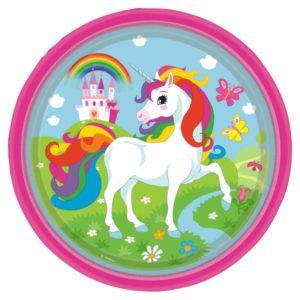 Πιάτα Unicorn Rainbow 23cm-8Τμχ (M9902101)