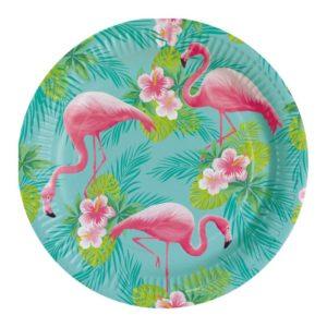Πιάτα Flamingo 23cm-8Τμχ (M9903325)
