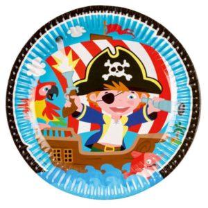 Πιάτα Pirate 23cm-8Τμχ (M9902120)