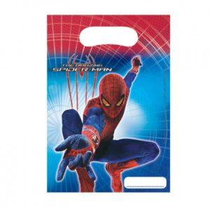 Τσάντες Δώρων The Amazing Spiderman 6Τμχ (80473)