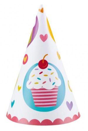 Καπέλα Cupcake 6 Τμχ (997218)