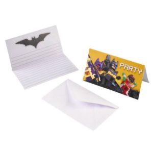 Προσκλήσεις LEGO Batman-8Τμχ (M9901828)