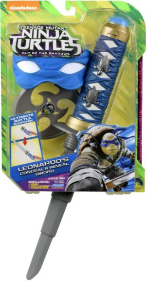 TMNT Movie 2 Combat Gear-4 Σχέδια (TUV27111)