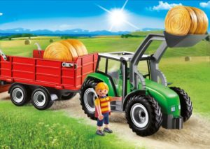 Playmobil Μεγάλο Τρακτέρ Με Καρότσα (6130)
