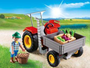 Playmobil Αγροτικό Τρακτέρ (6131)