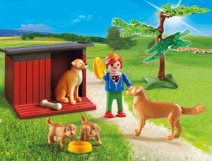 Playmobil Σκυλάκια Golden Retriever (6134)