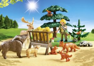 Playmobil Δασοφύλακας Με Ζώα του Δάσους (6815)