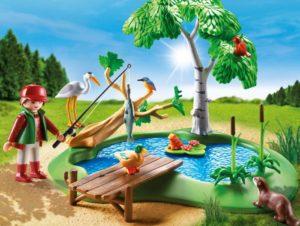 Playmobil Ψαράς Σε Λίμνη Με Ζωάκια (6816)