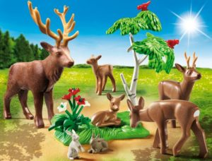 Playmobil Οικογένεια Ελαφιών (6817)