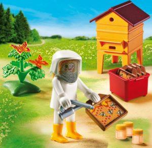 Playmobil Μελισσοκόμος Με Κηρήθρες (6818)