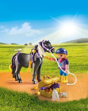 Playmobil Πόνυ Με Αστεράκια & Κοριτσάκι (6970)