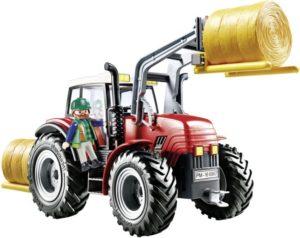 "Playmobil Τρακτέρ Με Ανυψωτικά Πιρούνια & ""Κουβά"" (6867)"