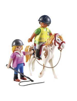 Playmobil Προπονήτρια & Αθλήτρια Ιππασίας (9258)