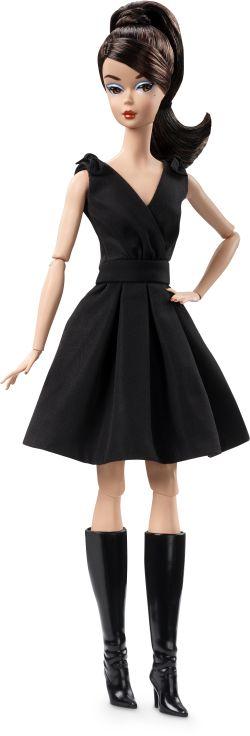 Barbie Μοντέλο-Μαύρο Φόρεμα (DWF53)