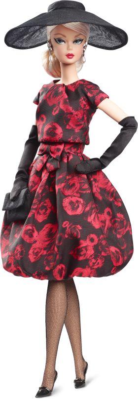Barbie Συλλεκτική Υψηλή Ραπτική-Κοκτέιλ Φόρεμα Με Τριαντάφυλλα (FJH77)