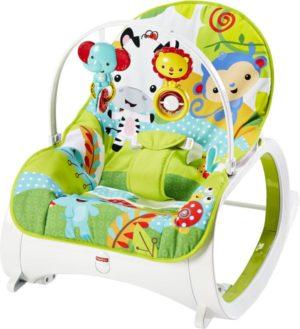 Fisher Price Rainforest Friends Newborn To Toddler-Ριλάξ/Κούνια (CMR10)
