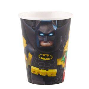 Ποτήρια LEGO Batman 250ml-8Τμχ (M9901824)