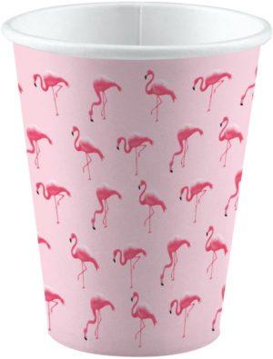 Ποτήρια Flamingo 266ml-8Τμχ (M9903327)