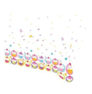 Τραπεζομάντηλο 120x180cm Cupcake (997213)