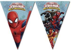 Τρίγωνες Γιρλάντες Spiderman Web Warriors (85162)