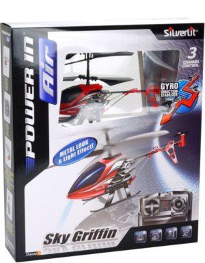 Silverlit Τηλεκατευθυνόμενο Ελικόπτερο I/R Air Griffin (3CH)-2 Σχέδια (7530-84711)