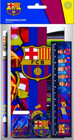 Barcelona Σχολικό Σετ 5Τμχ (0170605)
