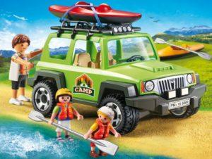 Playmobil Όχημα 4X4 & Καγιάκ (6889)