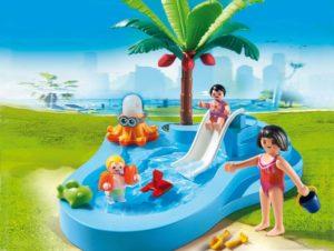 Playmobil Πισίνα για Μωρά με Τσουλήθρα (6673)