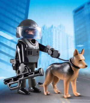 Playmobil Special Plus Αστυνόμος Με Εκπαιδευόμενο Σκύλο (5369)