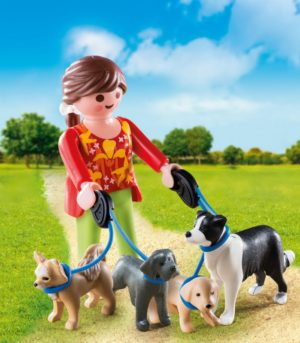 Playmobil Special Plus Εκπαιδεύτρια Σκύλων (5380)