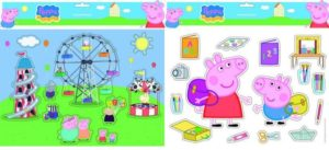 Peppa Pig Αυτοκόλλητα 25x35 (0480121)