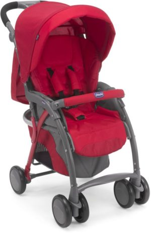 Chicco Καρότσι Simplicity Red-70 (79482-70)