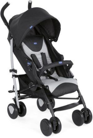 Chicco Καρότσι Echo Complete Με Μπάρα Προστασίας-Stone (79431-85)