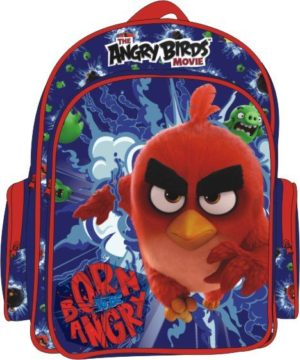 Angry Birds Born To Be Angry Σακίδιο Οβάλ Διπλό (163603)