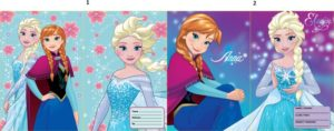 Frozen Τετράδιο Καρφίτσα 17X24 40 Φύλλων-2 Σχέδια (0562039)