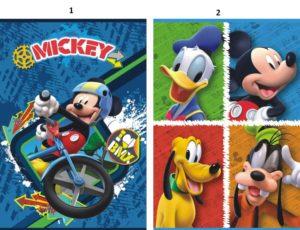 Mickey Τετράδιο Καρφίτσα 17x24 40 Φύλλων-2 Σχέδια (0561289)