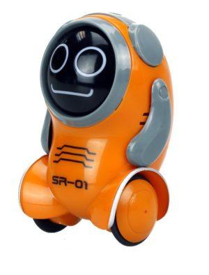 Silverlit Ηλεκτρονικό Robot Pockibot-6 Σχέδια (7530-88529)