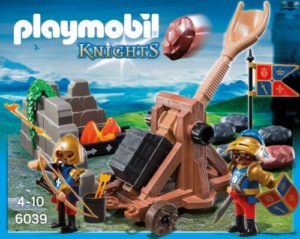 Playmobil Βασιλικοί Λεοντόκαρδοι Ιππότες Με Καταπέλτη (6039)
