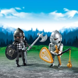 Playmobil Duo Pack Ιππότες Με Πανοπλία (6847)